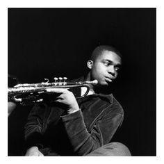 Freddie Hubbard - foto by Francis Wolff (unconfirmed) Jazz Artists, Jazz Musicians, Francis Wolff, Freddie Hubbard, Jazz Trumpet, A Love Supreme, Thelonious Monk, Trumpet Players, Instruments