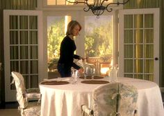 Something's Gotta Give dining room   onscreen houses