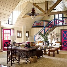 Steven Gambrel barn conversion