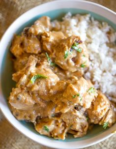 Easy Slow Cooker Thai Peanut Chicken | Food Recipes