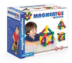 Magneatos Better Builder 30 pc Set with Storage Case by GuideCraft - $44.95