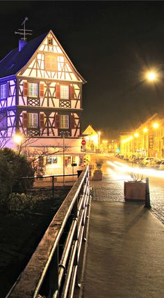 Hotel Le Colombier Colmar - the most romantic place to stay in Little Venice in Colmar #Alsace #Colmar