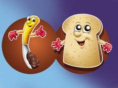 Imagem para ponto de venda da Nutella!