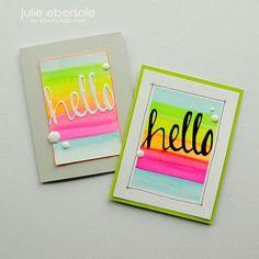Neon Hello Monday @JulieEbersole