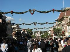 I will one day go to Disneyland at Christmastime...