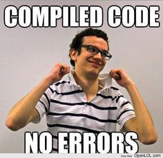When Programmer Compiled Code