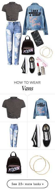 """Untitled #1007"" by novasb on Polyvore featuring Vans and Oliver Peoples"