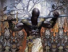 Tagged with art, fantasy, dnd, dungeons and dragons, fantasy art; Fantasy art dump - D&D Character Inspiration Fantasy Inspiration, Character Inspiration, Character Art, African American Art, African Art, Fantasy Warrior, Fantasy Art, Orishas Yoruba, Mtg Art
