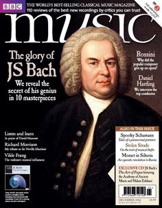 In this Issue:    Exclusive CD! - JS Bach: The art of Fugue.    The glory of JS Bach - We reveal the secret of his genius in 10 masterpieces    Rossini - Why did the composer give up opera?    Daniel Harding - we interview the top conductor    Full radio listings inside    Also in this issue:  <ul>   <li>Spooky Schumann - Tales of a paranormal premiere</li>   <li>Stolen Strads - On the trail of music thefts</li>   <li>Mozart in Siberia - An operatic revolution in Russia</li>  </ul>