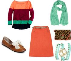 """""""Melon and mint!"""" by amanda-cotten on Polyvore"""