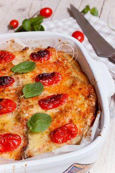 Fiordirosmarino: Torta salata di pane di Matera con ricotta e menta