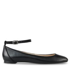 The Chrissy Flats in Black