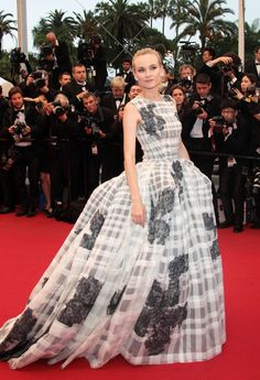 Diane Kruger attends the closing ceremony for the 2012 Cannes Film Festival on Sunday (May 27) in Cannes, France.