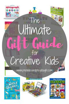 Over 20 non-toy gift ideas for artistic kids who love to write, draw, and make crafts!