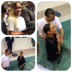 From Los Angeles CA - One of my friends @worldofmarlenac just dedicated her life to Jehovah and she couldnt be happier. You can see the joy on her face before baptism as she stepped into the baptism pool and even more so after coming up from the water. You can definitely say that she made the best decision that she will ever make. Just last night she was announced as auxiliary pioneering this month and I couldnt be more proud to see her grow in Jehovahs organization. We are all doing this…