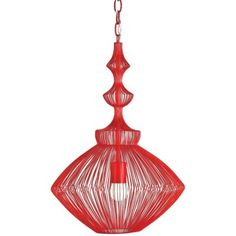 Parker Pendant by Currey and Company ~ Lumens $431.20