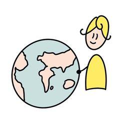 "@morgane.facilitation on Instagram: ""Petit picto d'amour à la terre . Merci la terre   #terre #procreatedrawing #procreatesketchnote #procreate #morganefacilitation…"" Create Drawing, Sketch Notes, Instagram, Fictional Characters, Earth, Love, Fantasy Characters"