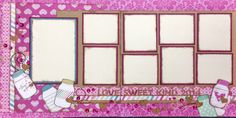 Love is sweet august 2014 Scrapbook Layout Sketches, Scrapbooking Ideas, Scrapbook Pages, Craft Projects, Projects To Try, Tree Sketches, August 2014, Love Valentines, Page Layout