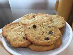 Giant, Chewy, Gluten Free Chocolate Chip Cookies