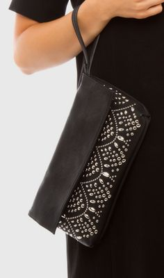 I love little wristlet bags.  This one is perfect when dressing up!