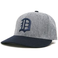 Detroit Tigers 1935 Road Cooperstown Fitted Cap - MLB.com Shop