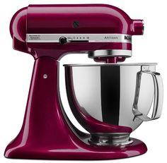 KitchenAid KSM150PSBX Artisan Series 5-Qt. Stand Mixer with Pouring Shield - Bordeaux #affiliate