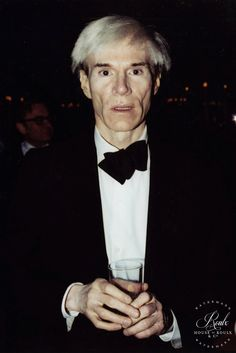Andy Warhol (by Peter Warrack) - Limited Edition, Archival Print
