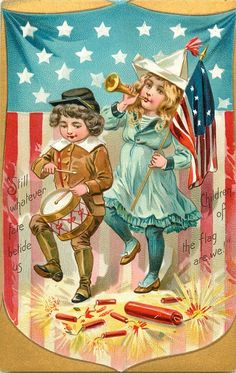 STILL WHATEVER FATE BETIDE US CHILDREN OF THE FLAG ARE WE!