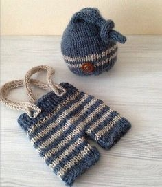 Recién nacido ropa del ganchillo / fotos prop por JosiePosieCozie