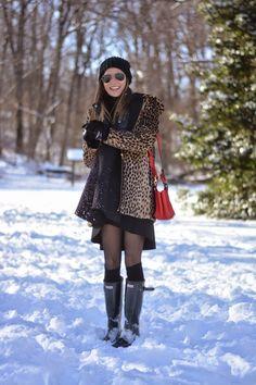The Quarter Life Closet: Snow Leopard