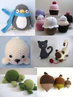 Crochet Amigurumi Pattern Collection Bundle 1 (Amy Gaines Pattern Collections) by Amy Gaines, http://www.amazon.com/dp/B00DPX9TH4/ref=cm_sw_r_pi_dp_cA5Btb1KB2K3Z