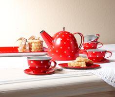 It's #Teatime: Kinder- #Teeservice mit weißen Sternen für €16,95 bei #Tchibo