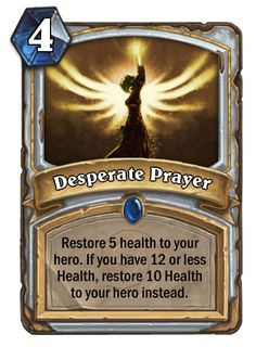 Fan made Priest cards.