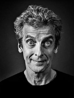 Peter Capaldi by Andy Gotts. Great shot!
