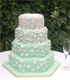 Cakes designed and created by Maisie Fantaisie #weddingcake
