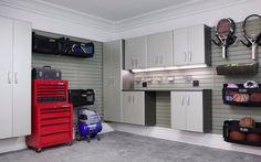 garage organization cabinetry