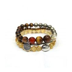 Stretch Bracelet/Stackable Bracelet/Gemstone by ETNAjewerly