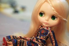 Blonde in stock outfit by cathywitch, via Flickr