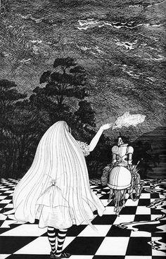 Alice in Wonderland, illustrated by Ralph Steadman (1972).