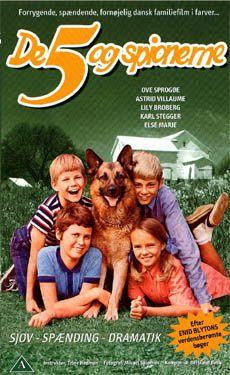 De 5 og spionerne (1969) om hvordan de 5 holder sommerferie.