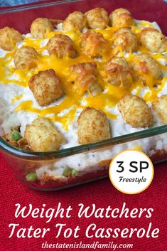 When I joined Weight Watchers, I vowed to never give up the good stuff. You know, potatoes. And dessert. This delicious (and light!) Weight Watchers Tater Tot Casserole ensures that you get to eat …