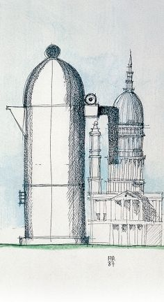 "Like a building, ""La Cupola"" by Aldo Rossi"