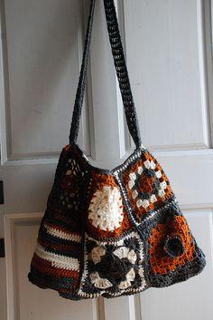 crochet tote bag   Flickr - Photo Sharing!
