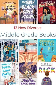 New Diverse Middle Grade Chapter Books for 2020