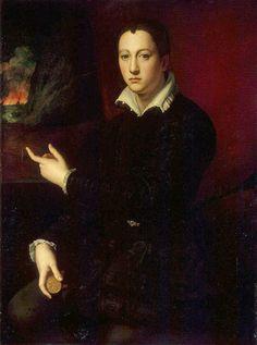 Cosimo I de' Medici - Agnolo Bronzino