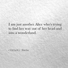 Be like Alice