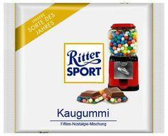 RITTER SPORT Fake Schokolade Kaugummi