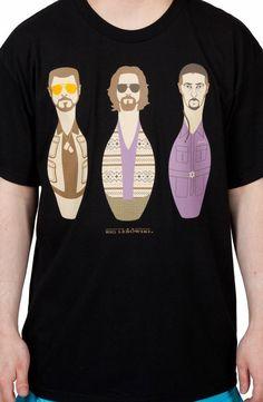 Bowling Pins Big Lebowski Shirt
