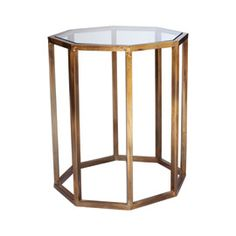 Octagon Side Table, Small