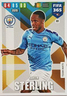 Fotbalové kartičky FIFA 365 XL 2018 Manchester City, Manchester United, Fifa, Liverpool, Baseball Cards, Sports, Hs Sports, Sport